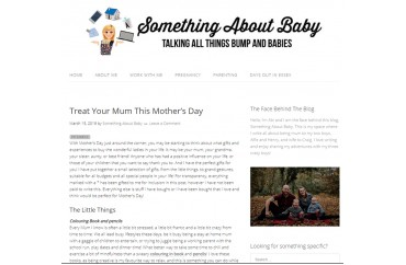 Something about Baby - March 2019