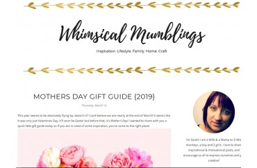 Whimsical Mumblings - March 2019